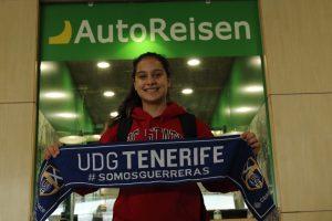 Andrea Zeolla es nueva jugadora de la UDG Tenerife