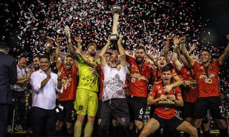 Caracas FC es el vigente campeón del fútbol de Venezuela.
