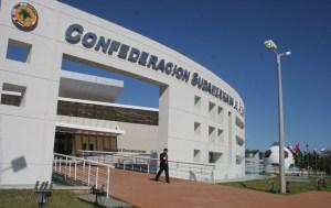 Sede de la Conmebol en Luque, Paraguay