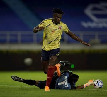 Venezuela cayó ante Colombia en el estreno de las Eliminatorias a Qatar 2022.