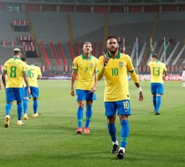 Neymar, baja para Brasil ante Venezuela.
