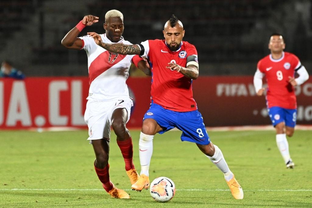 Arturo Vidal, el caudillo de la selección de Chile.