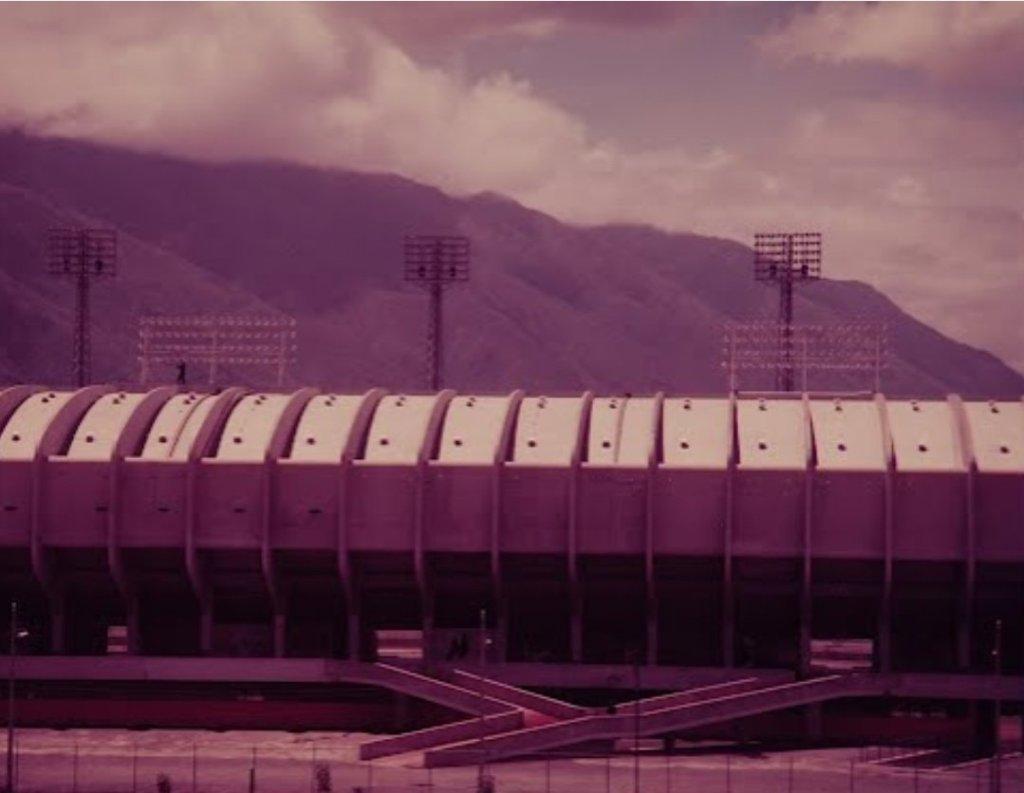 Estadio Olímpico en 1953. Foto de Cornell Capa.