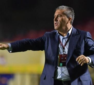 José Peseiro, seleccionador de Venezuela.