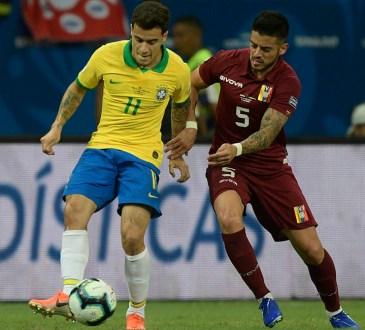 Junior Moreno contra Brasil.