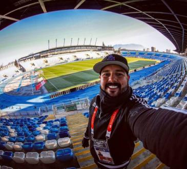 Simón Bardinet, fotógrafo deportivo.