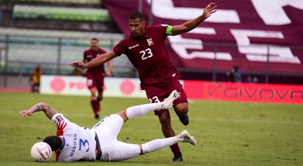 Salomón Rondón llegó a 31 goles con la selección de Venezuela.