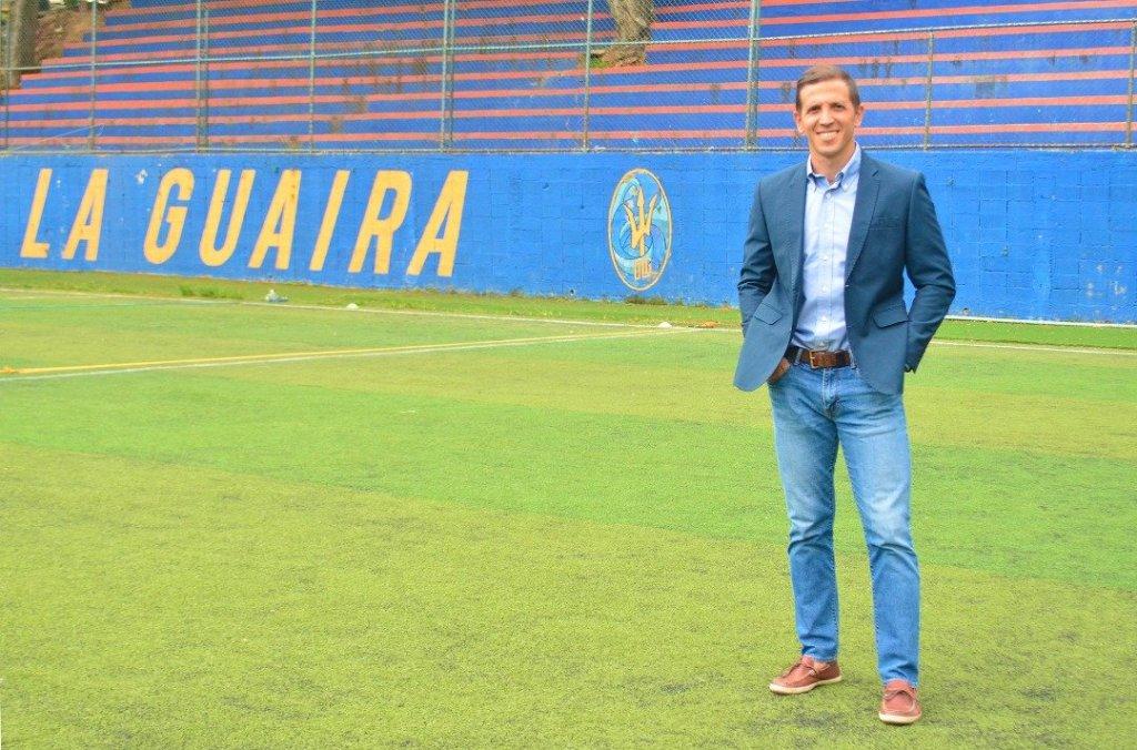 Vicente Suanno, gerente del Deportivo La Guaira.