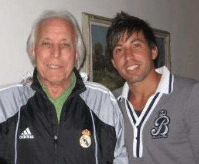 Jhonny y su hijo Rubén, los Arocha.