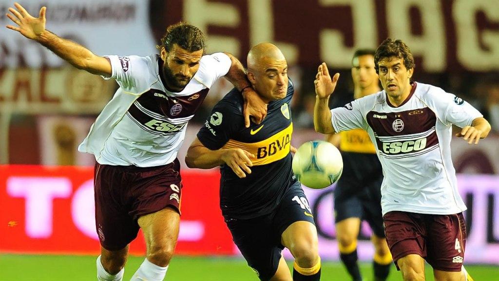Oswaldo Vizcarrondo contra Boca Juniors.