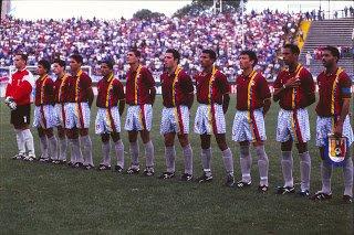 Venezuela en el Preolímpico de 1996. Foto Damián Cloquell