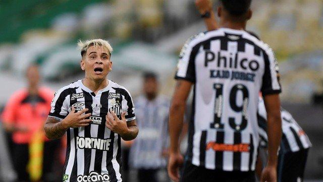 Yeferson Soteldo, frustrado ante Palmeiras.