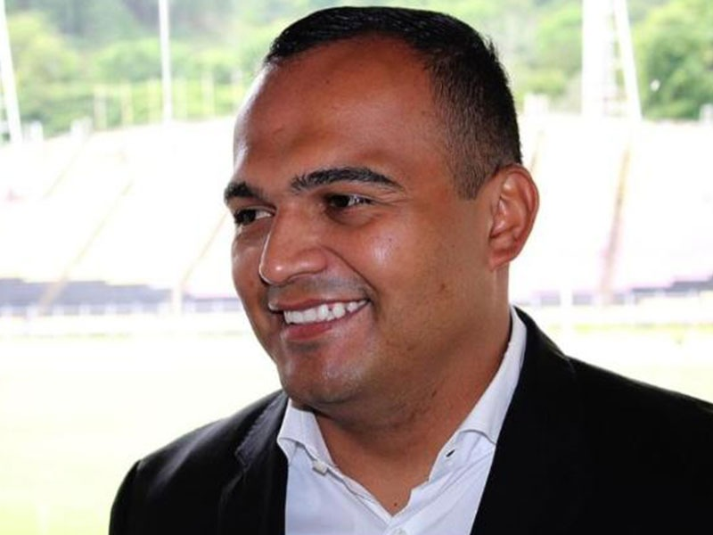 Jorge Silva, presidente del Deportivo Táchira y candidato a la FVF