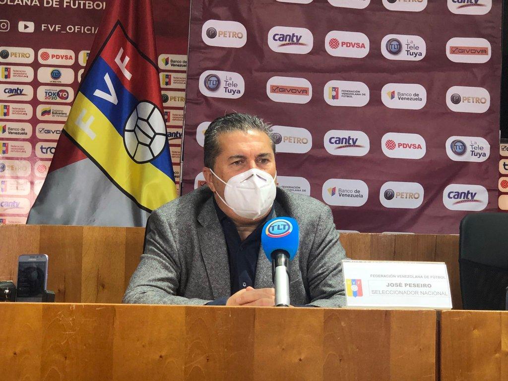 José Peseiro, seleccionador vinotinto.