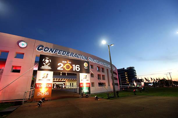 Sede de la Conmebol en Paraguay.