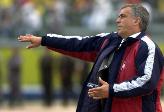 Richard Páez, seleccionador de Venezuela entre 2001 y 2007
