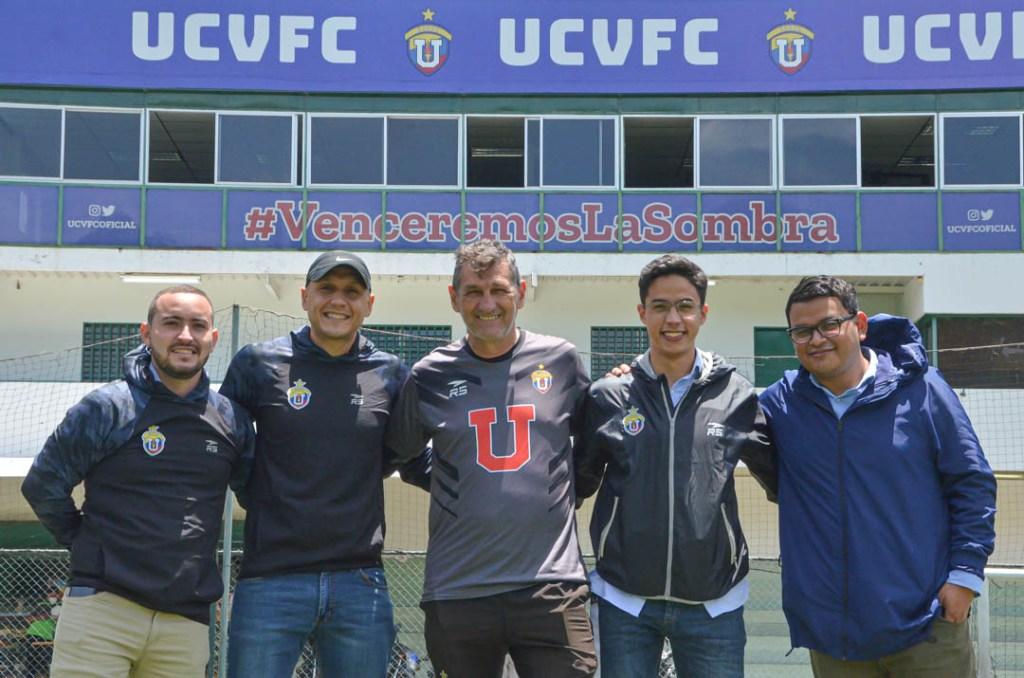 Pedro Acosta, DT de UCV FC
