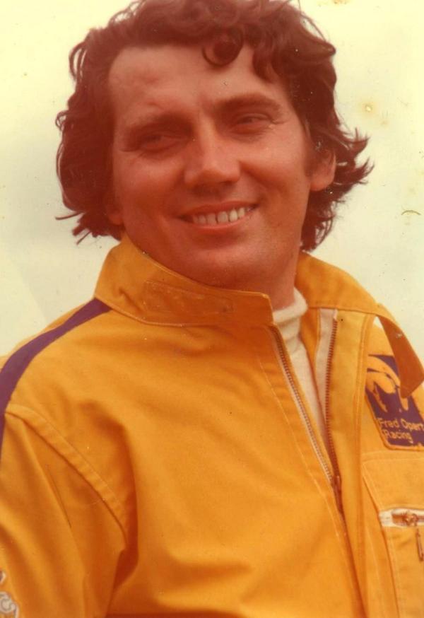 Juan Cochesa en sus tiempos de piloto.
