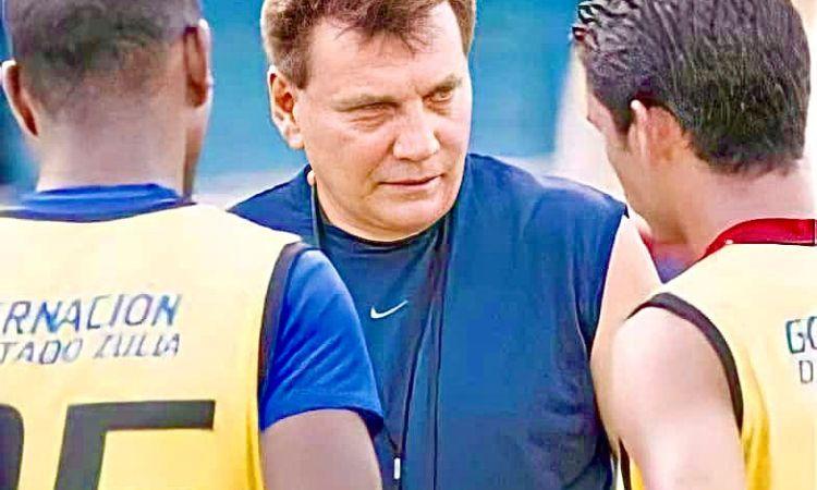 Juan Cochesa como DT del Zulia FC