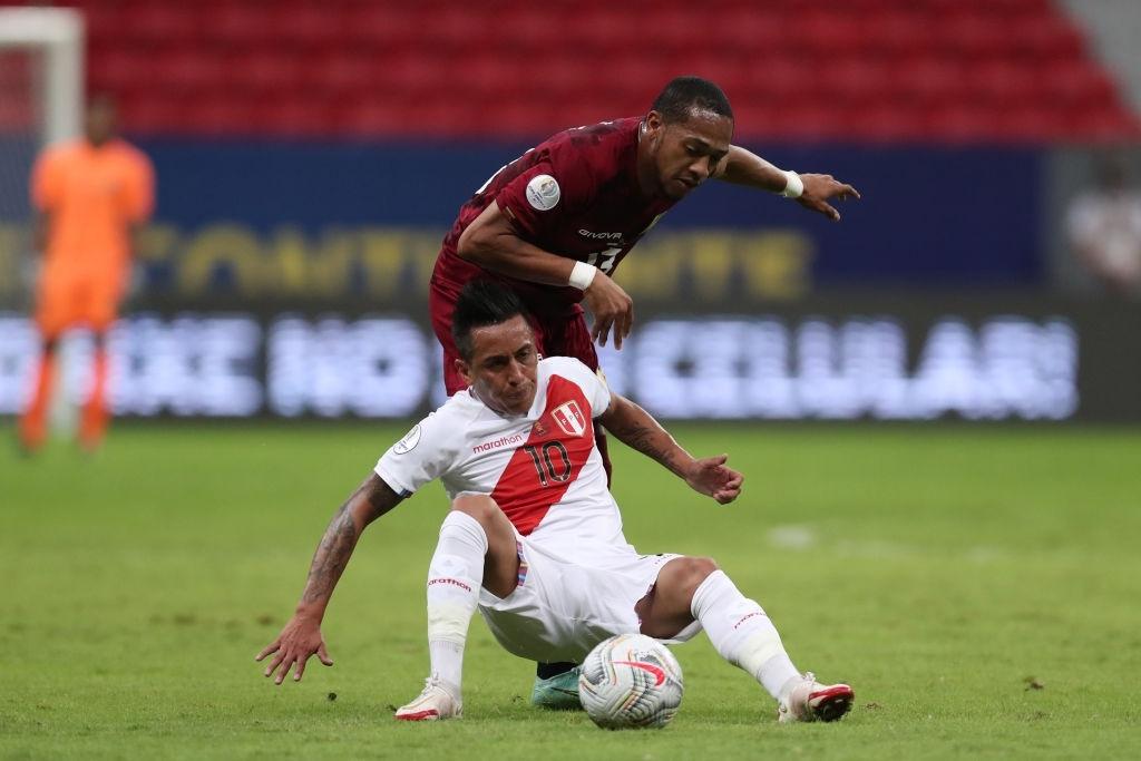 José Andrés Martínez vs Perú en la Copa América
