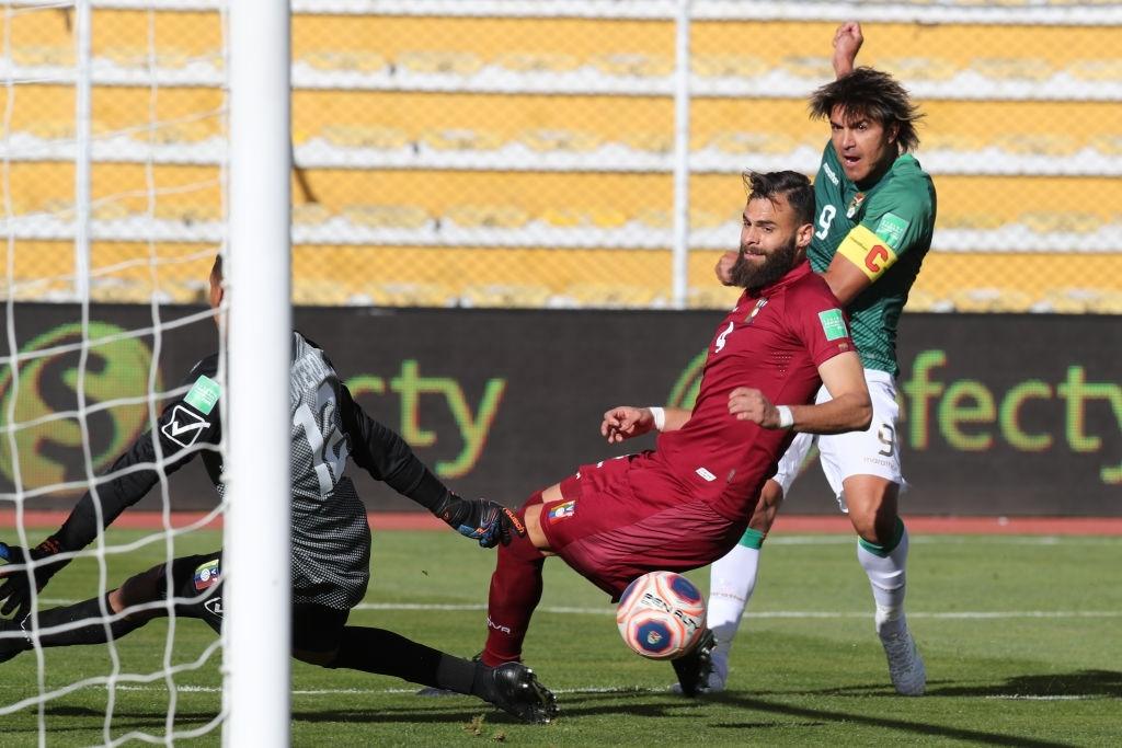 Venezuela cayó 3-1 ante Bolivia en La Paz