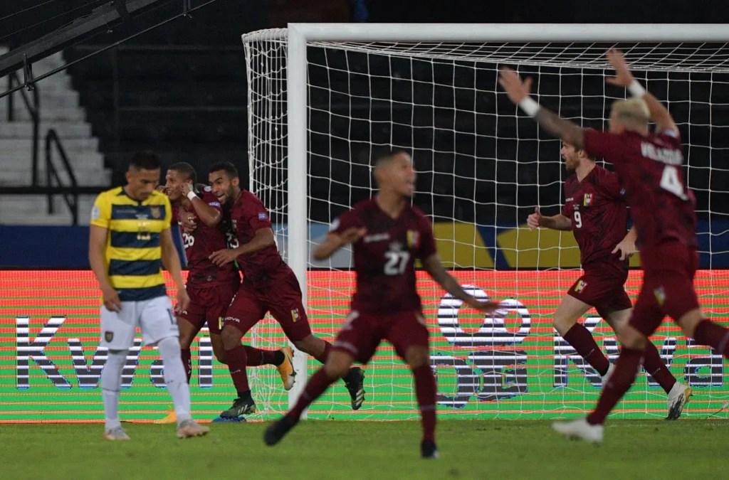 Venezuela 2-2 Ecuador - Foto Copa América