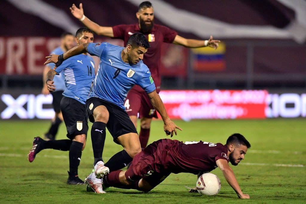 Junior Moreno ayudó al 0-0 entre Venezuela y Uruguay
