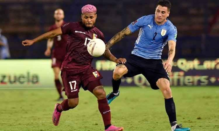 Josef Martínez vs Uruguay