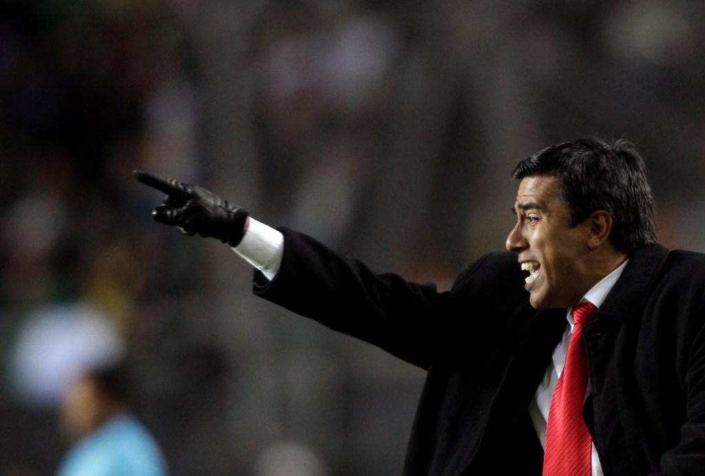 César Farías, DT de Venezuela en la Copa América Argentina 2011