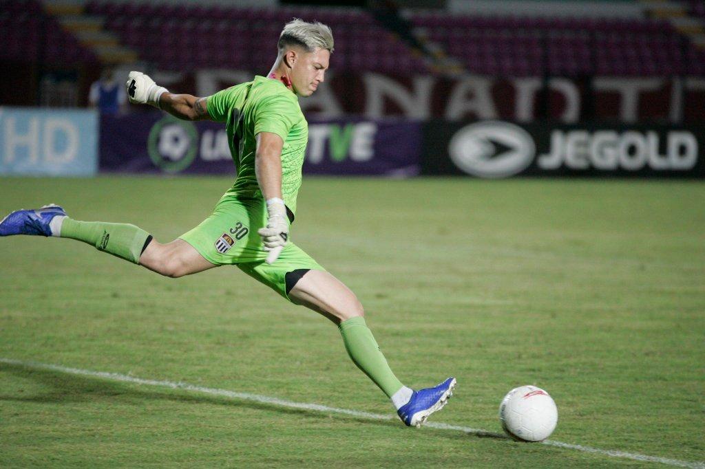 Claudio Fraga, arquero del Carabobo FC