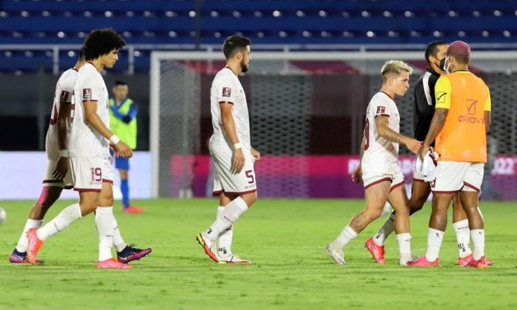 Venezuela cayó 2-1 ante Paraguay en Asunción