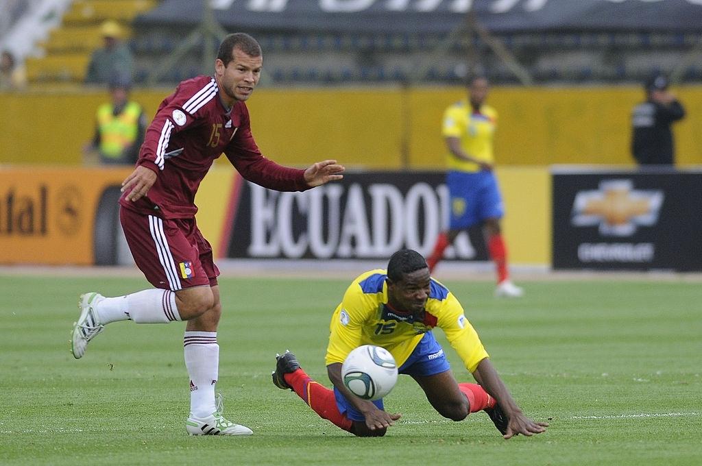 Venezuela ante Ecuador en las Eliminatorias a Brasil 2014