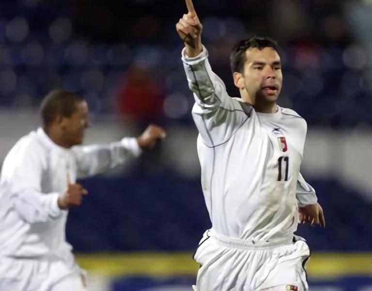 Ricardo David Páez en la victoria de Venezuela 2-0 ante Chile