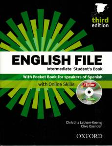 libro de ingles intermedio engish file intermediate
