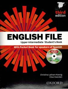portada libro de ingles english file superior/intermendio