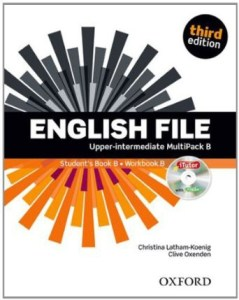 portada libro de ingles english file imtermedio-alto multipack B