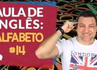 Alfabeto em Inglês - Aula de Inglês Básico com professor Paulo Barros