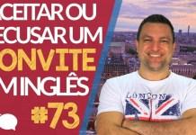Aula Básica de Inglês - Convite em Inglês