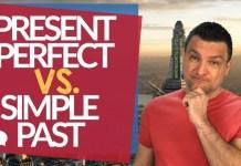 Present Perfect vs Simple Past - Aula de Inglês Intermediário