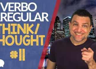 verbo irregular think