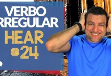 verbo irregular hear