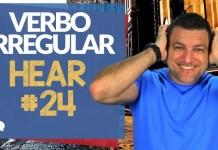 verbo irregular hear