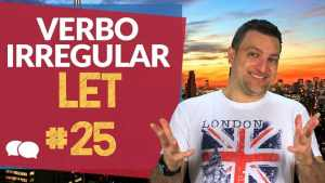 verbo irregular let