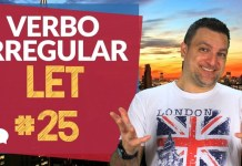 verbo irregular let