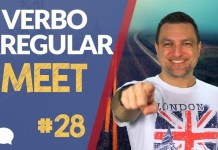 verbo irregular meet