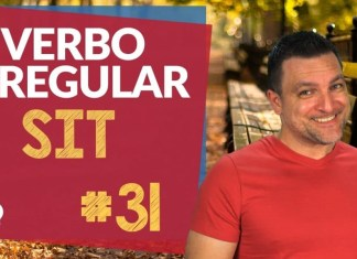 verbo irregular sit