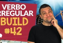 verbo irregular build