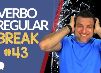 verbo irregular break