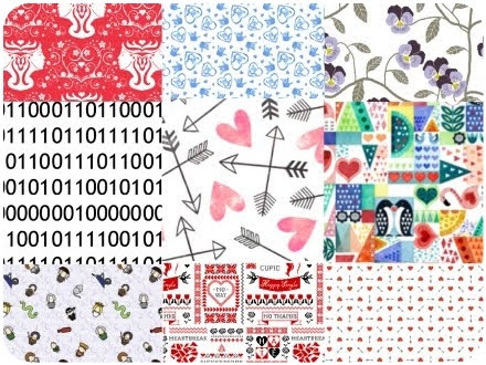 Fabric Magic: 9 Designs from Spoonflower for Love Spells