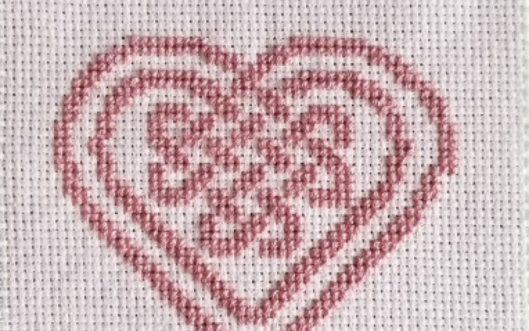 Celtic Heart Cross Stitch Header Image